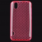 Protective Silicone Case for LG P970 - Pink