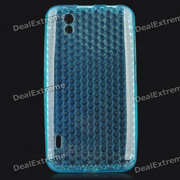 Protective Silicone Case for LG P970 - Blue