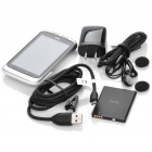 "Genuine HTC Wildfire S 3.2"" Capacitive Android 2.3 WCDMA 3G Cell Phone w/ Wi-Fi + GPS - Silver"