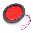 24-LED 24V Vehicle Tail Light Lamp - Red