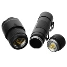 Ultrafire WF-502B 1W UV Flashlight with Clip (3.4V~8V Input)