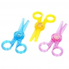 Plastic Craft Straight Scissors + 2 Wave Scissors Set (Set of 3)