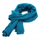 Fashion Knitting Wool Scarf - Lake Blue (170 x 50cm)