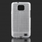 Rock-Protective Soft Back Case + Screen Protector + Reinigungstuch für Samsung i9100 - Transparent