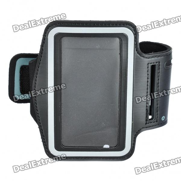 Stylish Sports Armband for Iphone 4S - Black