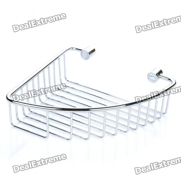 Copper Bathroom Shelf Basket Soap Dish Copper Storage Holder - Silver