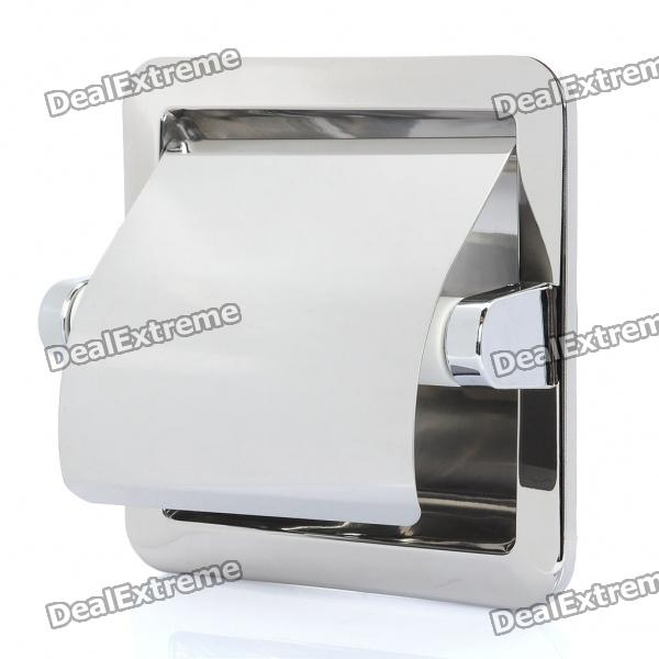 Recessed Toilet Paper Tissue Towel Roll Paper Holder - Silver чехол для iphone 5 printio с именем алла