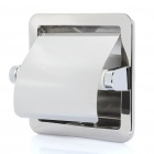 Recessed Toilet Paper Tissue Towel Roll Paper Holder - Silver