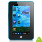 "7.0"" Resistive Touch Screen Android 2.2 Tablet PC with Camera/Wi-Fi/TF - Blue (ARM V5 349.79MHz)"