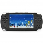 "4.3"" Touch Screen Portable Game Console Media Player w/ Camera / FM / TF - Black (4GB)"