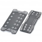 Carbon Fiber Anti-Slip Pedal Cover Set for Automatic Transmission Vehicle