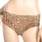 Women's Leopard Padded Lycra Fabric Underpants (Size-L)