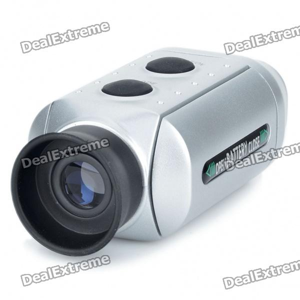 Digital 7X Golf Scope Range Finder - Silver (2 x CR2032)