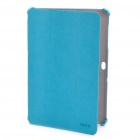 Protective PU Leather Case for Samsung Galaxy Tab P7510 P7500 - Blue
