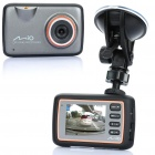 "HD720P 2.5"" LCD 1.2MP CMOS Vehicle Car Digital DVR Camcorder w/ G-Sensor / TF / AV-Out - Black"