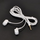 Trendy 3.5mm In-Ear Style Stereo Earphone - White