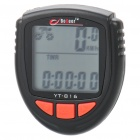 "1.5"" LCD Waterproof Electronic Bicycle Speedometer - Black (1xCR2032 Battery)"