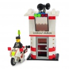 Buy Intellectual Development DIY 3D Fire Fighting Series Toy Bricks Puzzle Set (133-Piece Pack)