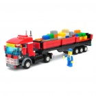 Intellectual Development DIY 3D Truck Toy Bricks Puzzle Set (409-Piece Pack)