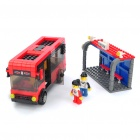 Intellectual Development DIY 3D Bus Series Toy Bricks Puzzle Set (318-Piece Pack)