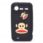 Paul Frank Silicone Protective Case for HTC Incredible S - Black