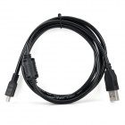 4-Core Mini 5 Pin to USB Cable - Black (151cm)