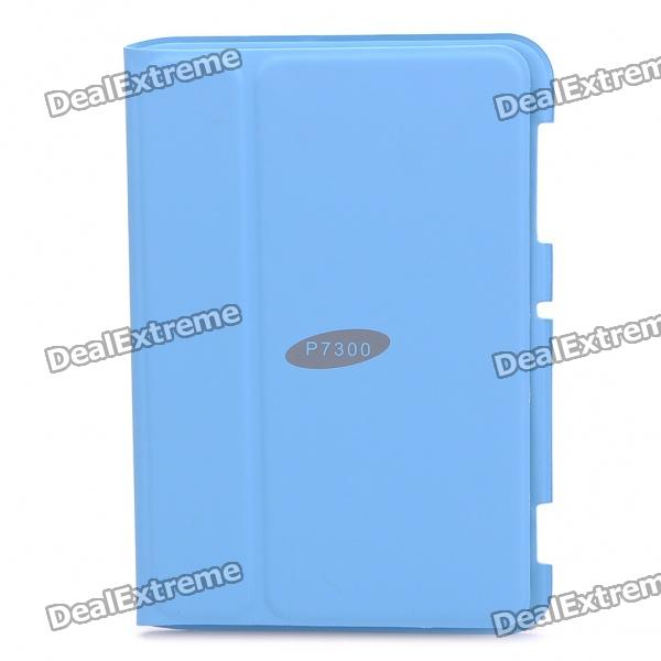 Stylish Protective PU Case for Samsung Galaxy Tab 8.9/P7300 - Blue