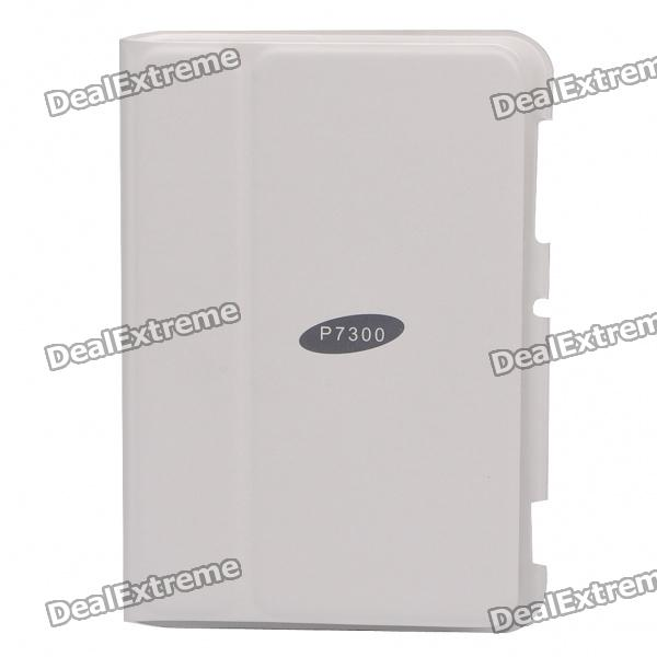 Stylish Protective PU Case for Samsung Galaxy Tab 8.9/P7300 - White