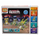 Educational Electronic Big Eyes Robot Model Assembly Toy (2 x AA)