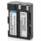 7.2V 1400mAh Rechargeable Lithium Battery for Nikon Digital Camera - Black