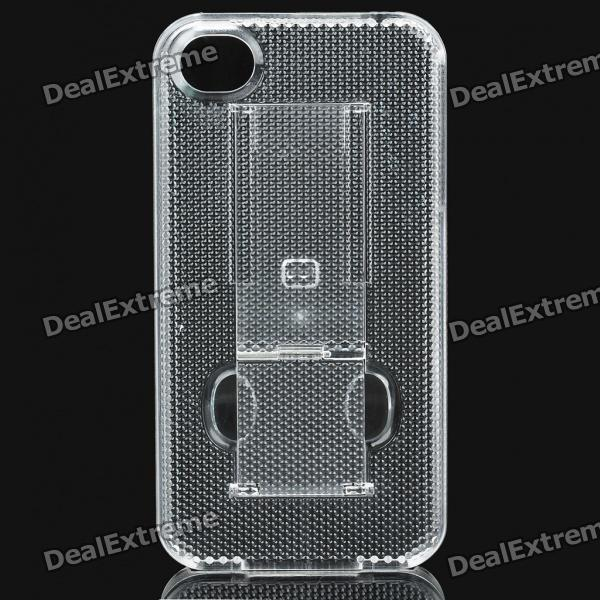 PC Plastic Protective Case for Iphone 4S - Transparent