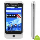 "G6000 3.5 ""Touch Screen Dual SIM Android 2.2 3G WCDMA Смартфон телевизор ж / GPS + Wi-Fi - Белый"