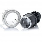 CCFL 35W HID Headlamps Car Angel Eyes Projector Fog Lamps Kit (Pair / DC 12V)