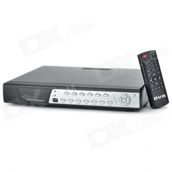 Embedded Linux 8-CH Network DVR Digital Video Recorder w/ Dual USB / LAN / VGA + More