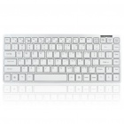 87-Key Bluetooth V2.0 Wireless QWERTY Keyboard + Silicone Protective Keyboard Cover (2 x AAA)