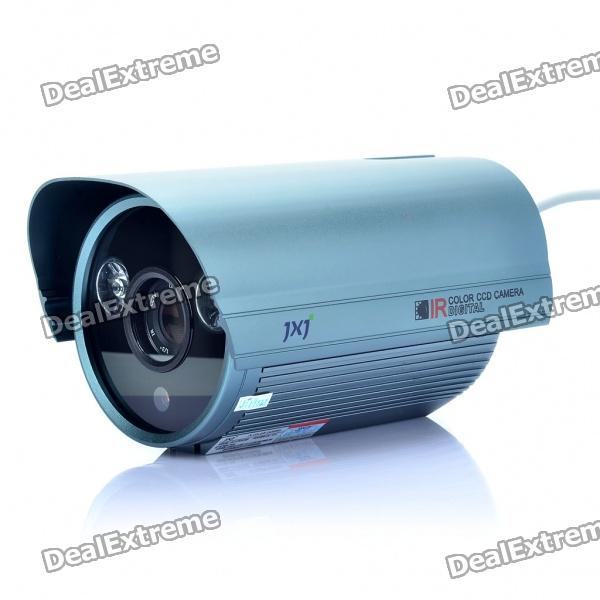 "JXJ 1/3"" CCD Surveillance Security Camera w/ 2-EPLED IR Night Vision (16mm-Lens/PAL)"