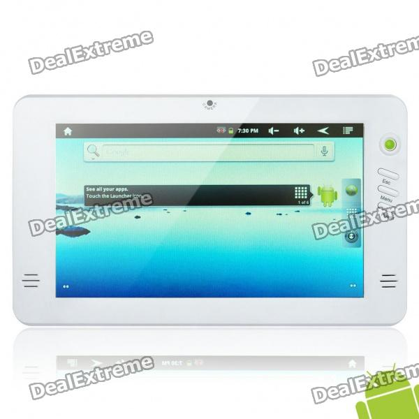 """7"""" Touch Screen Android 2.3 Tablet PC w/ Camera / Trackball / TF (RK2918 1.2GHz / 4GB)"""