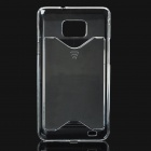 PC Plastic Protective Case for Samsung i9100 - Transparent