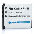 "Replacement 3.7V ""1180mAh"" Battery Pack for Casio Exilim Pro EX-F1 + More"