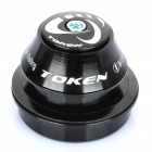 TOKEN Aluminum Alloy CNC Mountain Bike Headset - Schwarz