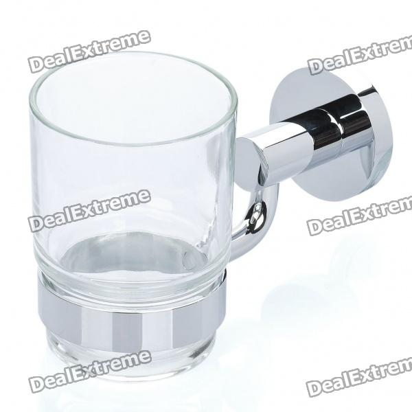 Brass Tumbler Holder with Glass Cup (200ml)