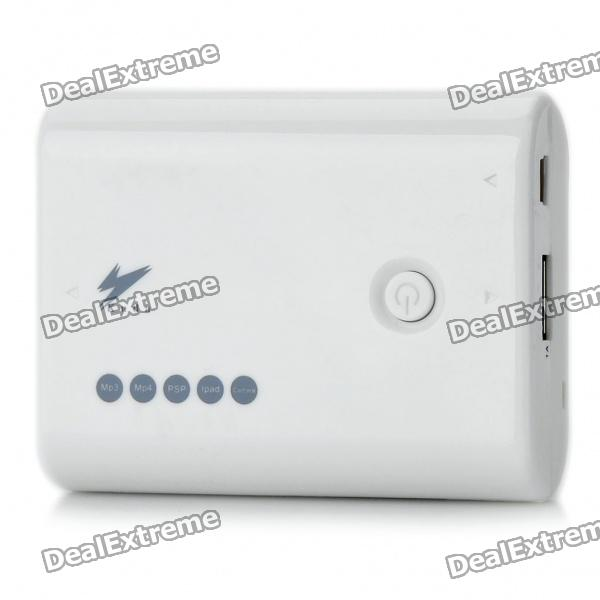 5000mAh Mobile Emergency Power Charger with 5 Charging Adapters for iPhone/Nokia/Sony Ericsson