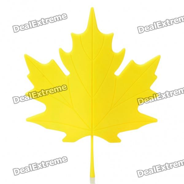 Fashion Maple Leaf Style Door Stopper Guard - Random Color champagne bottle stopper random color