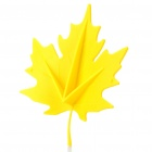 Fashion Maple Leaf Style Door Stopper Guard - Random Color