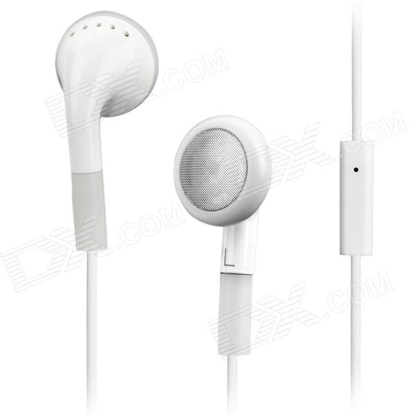 Stylish Earphone with Microphone + USB Data & Charging Cable for iPhone 4S (3.5mm Jack)