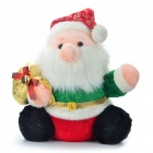 Buy Cute Plush Santa Claus Toy Doll w/ Sound / Lighting Effect (Size-L / 2 x AA)