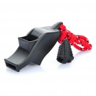 Outdoor Survival Emergency Whistle w/ Strap - Random Color