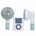 Creative Giant Earphone Style MP3 Music Speaker for PC / Laptop / Cell Phone (2W x 2)