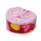 Shortcake-Like Towels (32x32cm / Color Assorted)