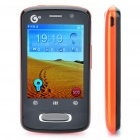 "ZTE U232 2.8"" Touch Screen 3G TD-SCDMA TV Cellphone w/Java + FM - Black + Orange"